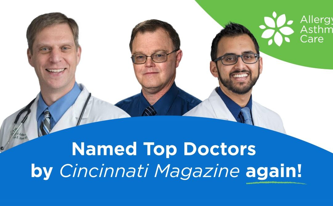 Three Cheers for our Three Top Docs!